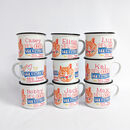 Personalised Tiger Mug 'Stronger Than You Think'