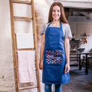 Personalised Polka Dot Pocket Apron