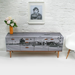 'Flying Saucers' Mid Century Sideboard - living room