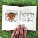 Personalised 'Parklife' Book Stamp