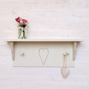 Heart Shelf - stands, rails & hanging space