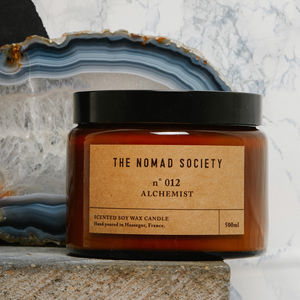 Alchemist Rosewood Scented Soy Candle - candles & home fragrance