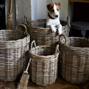 Set Of Four Baskets - storage baskets