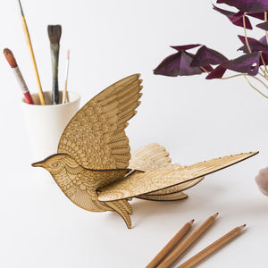 Personalised Paint Your Own Messenger Bird Kit