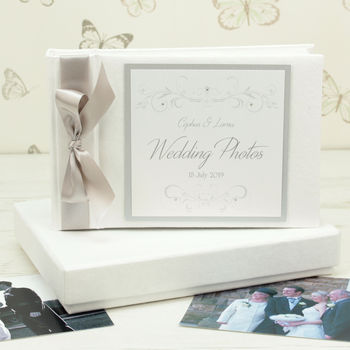 Personalised Lucy Wedding Photo Album