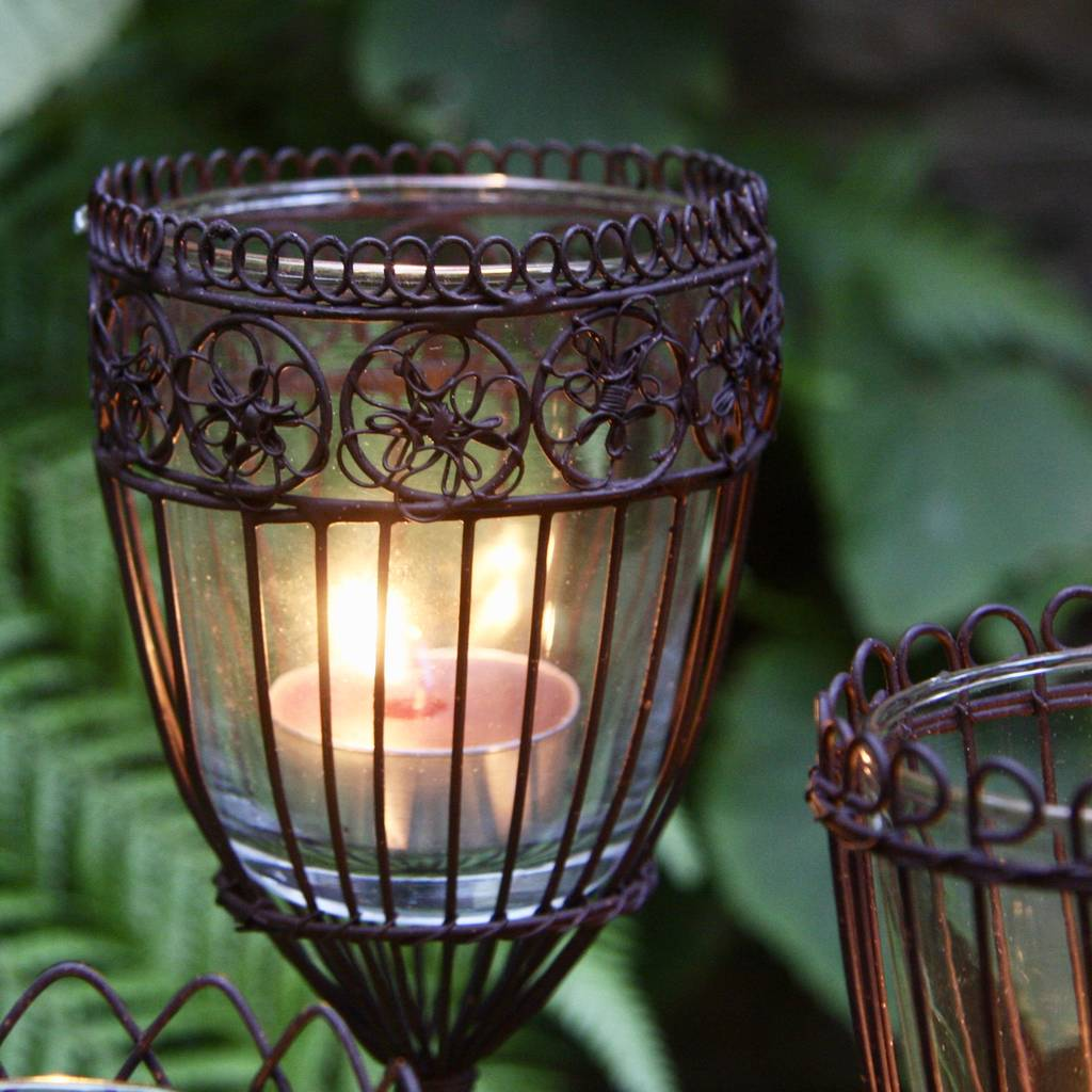 Outdoor Tea Light Holders Lighting