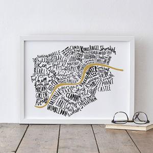 London Print - posters & prints