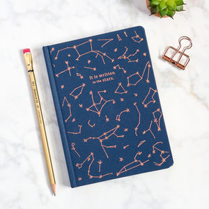 'It Is Written In The Stars' Celestial Journal - writing
