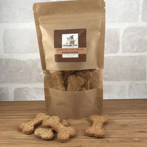 Natural Crunchy Dog Treats Bag - new in pets