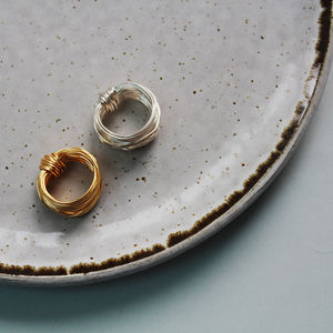 Wire Wrapped Aphrodite Ring - rings