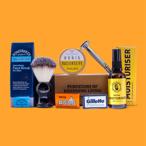 The Modern Man's Shaving Gift Box