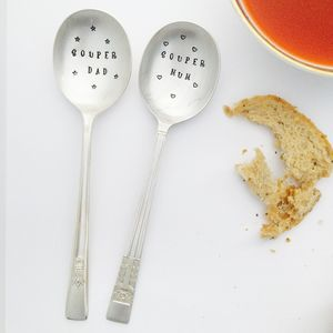 Personalised Silver Plated Soup Spoon - best father's day gifts