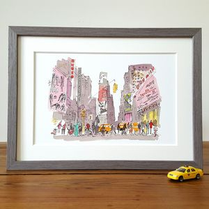 New York, Times Square, Limited Edition Print