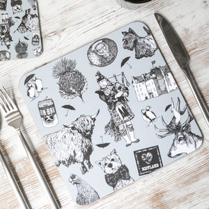 'Love Scotland' Placemats - placemats & coasters