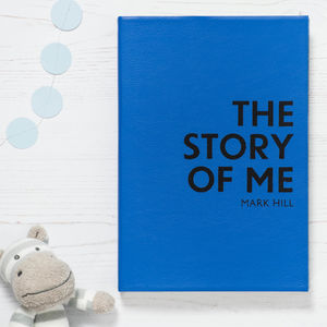 Christening Gift Personalised Story Of Me - guest books