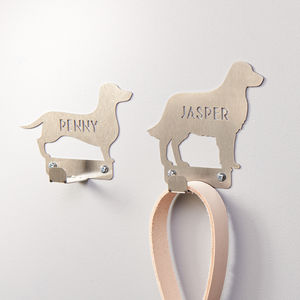 Personalised Dog Lead Holder