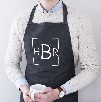 Personalised Monogram Apron
