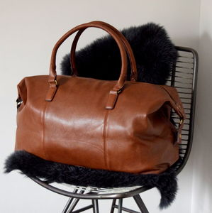 Men's Holdall and Weekend Bags | notonthehighstreet.com