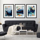 Original Abstract Art Prints Set Of Three Wall Decor