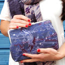 Iris Silk Clutch Bag