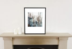 Debenham Lake, Suffolk Photographic Art Print