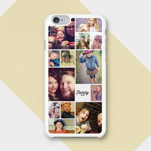 Instagram Personalised Photo Montage iPhone Case - phone covers & cases