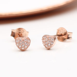 Sterling Silver Or 18ct Gold Mini Stud Earrings - earrings