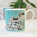 Brighton Illustrated Colourful Mug