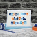 Personalised Mens 80th Birthday Card