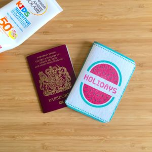 Children's Passport Holder Watermelon