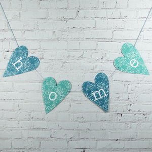Home Heart Decoration - decorative letters