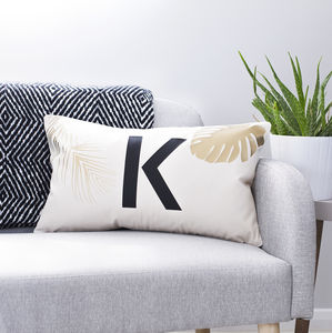 Personalised Tropical Cushion - living room