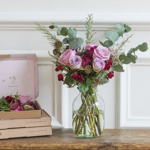 Six Month Letterbox Flower Subscription - 40th birthday gifts