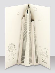 The Shard Pop Up Card