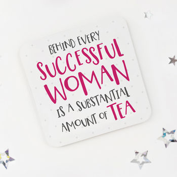 Funny Tea Lovers Coaster
