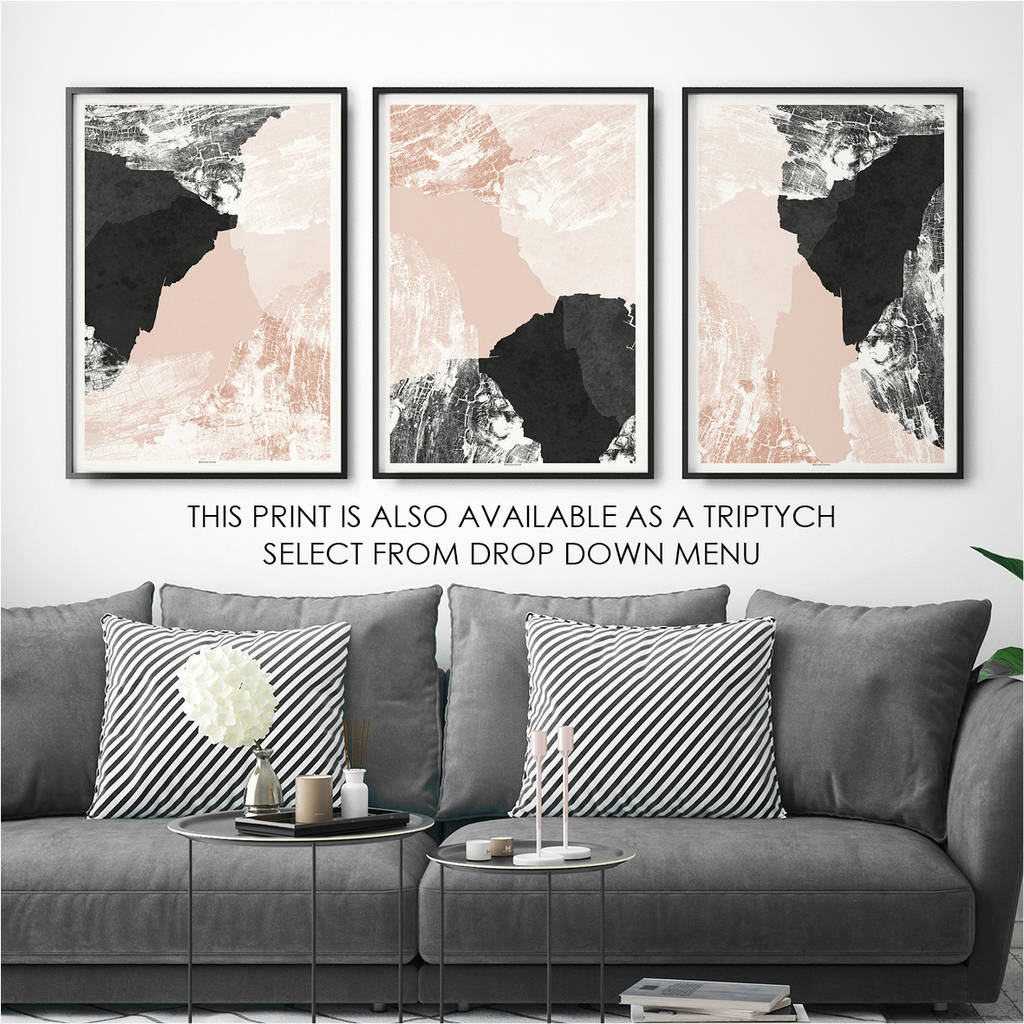 abstract art print living room art by bronagh kennedy art prints. Black Bedroom Furniture Sets. Home Design Ideas