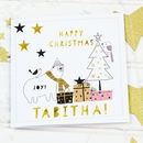 Scandi Christmas Card 'Bear'