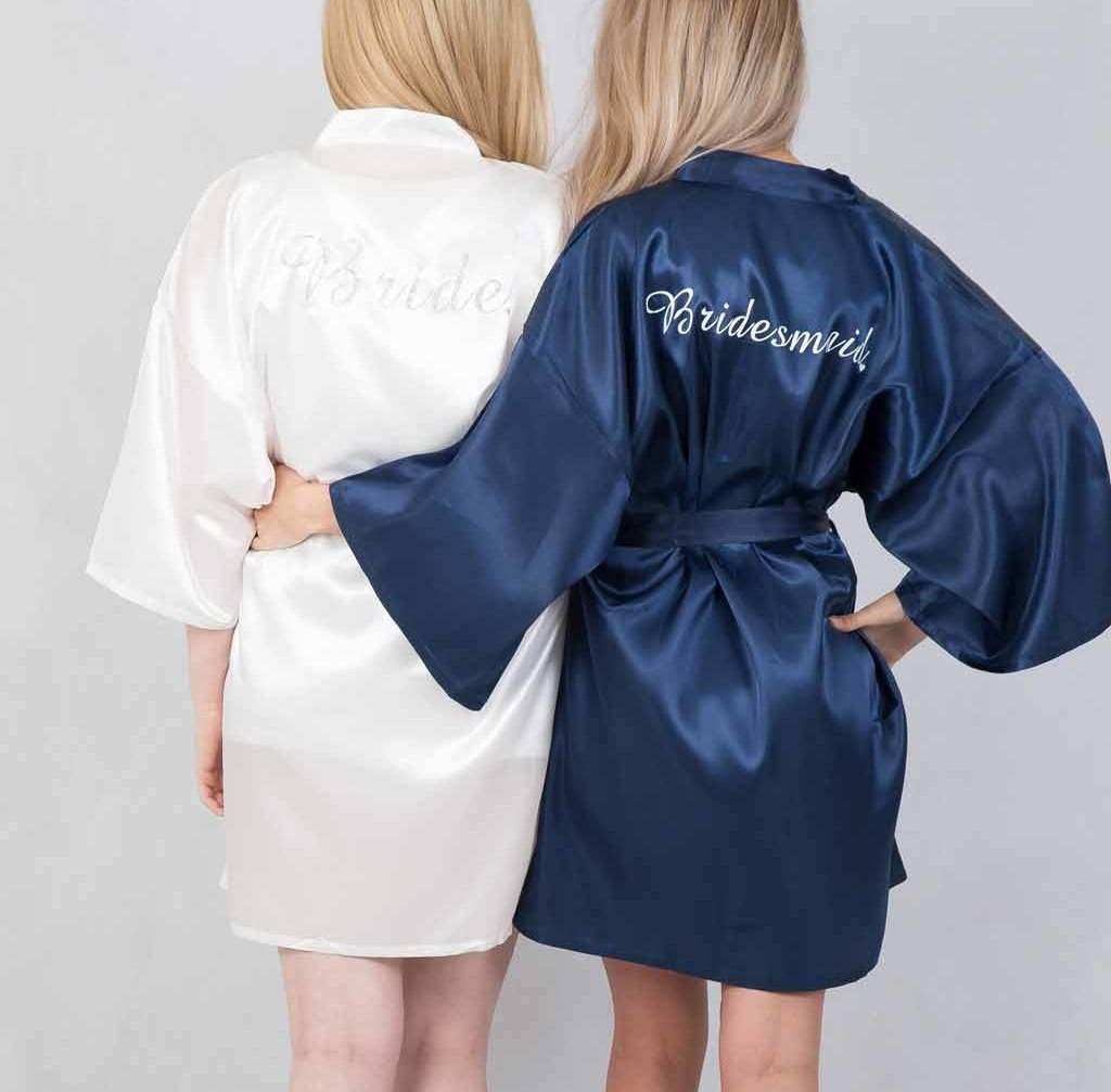 Awesome Personalised Dressing Gowns For Weddings Adornment - Wedding ...