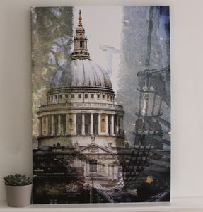 Iconic London Contemporary Print - architecture & buildings