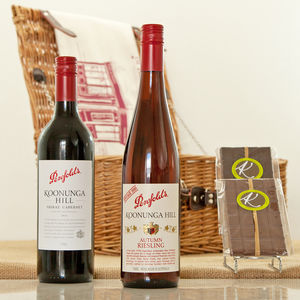 Wine And Chocolate Tasting Gift Hamper - gifts for couples