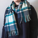 Merino Lambswool Check Scarf Collection