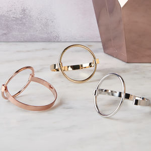 Sleek Round Bangle - bracelets & bangles