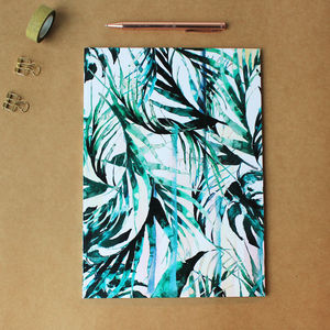 A4 Paradise Palms Notebook