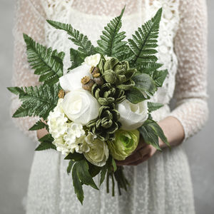 Paper And Faux Flower Bouquet, The Mae - new in wedding styling
