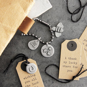 Meaningful Message Luggage Charm - frequent traveller
