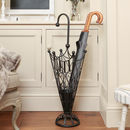 Elegant Scrolled Umbrella Stand
