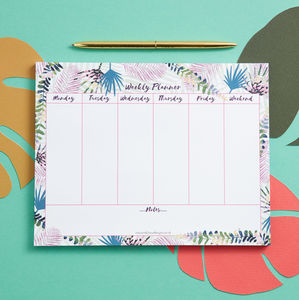Folia Weekly Planner Desk Pad