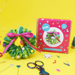 Mini Felt Wreath Craft Kit
