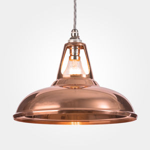 Coolicon Industrial Pendant Light Polished - dining room
