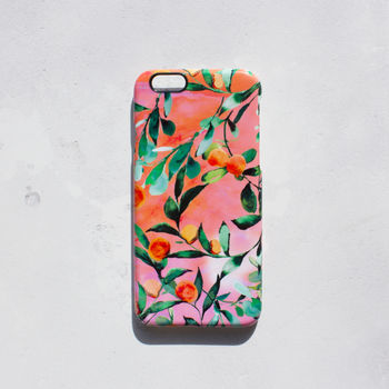 Orange Tree Phone Case